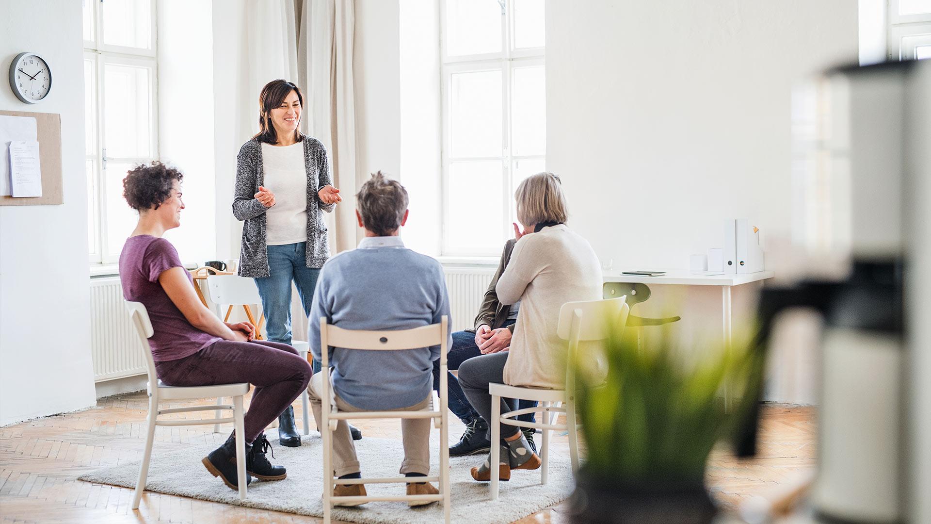 terapia de grupo para adultos en Vitoria Gasteiz